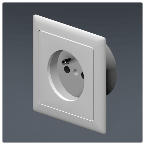 compact schuko adaptor xavelec. Black Bedroom Furniture Sets. Home Design Ideas