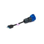 Blue 16A Italian adaptor