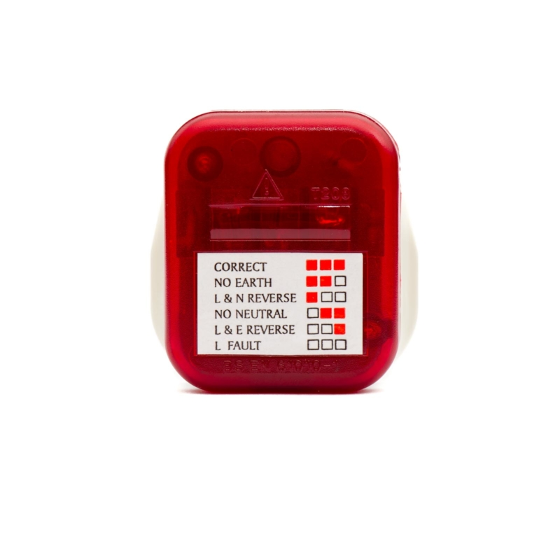 3-pin plug tester